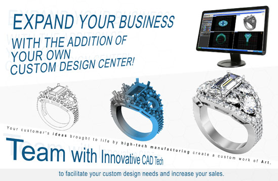 Create a CUSTOM DESIGN CENTER